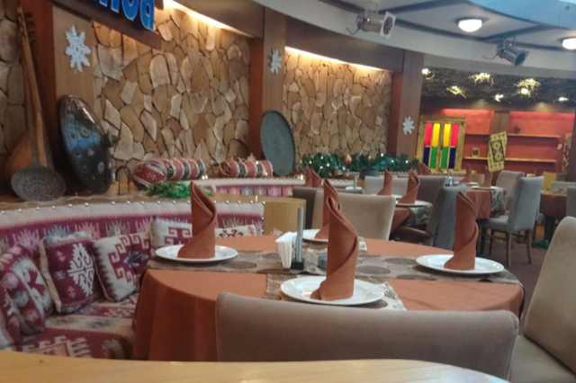 رستوران دالیدا باکو باکواسکای