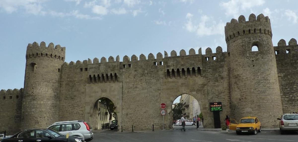 شهر قدیم باکو گنج گرانبهای آذربایجان