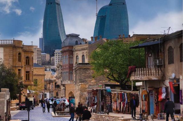 تور باکو  ارزانترین قیمت تور باکو  باکو اسکای